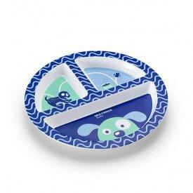 prato com divisorias multikids baby funny meal azul 02