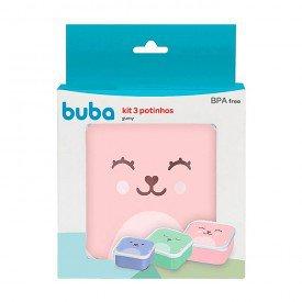kit 3 ptinhos buba gumy rosa verde azul 01