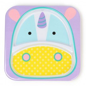 prato com divisoria zoo unicornio skip hop 01