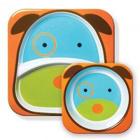 set de pratos zoo cachorro skip hop 01