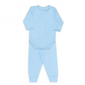 conjunto de body para bebe dedeka em thermo dry azul
