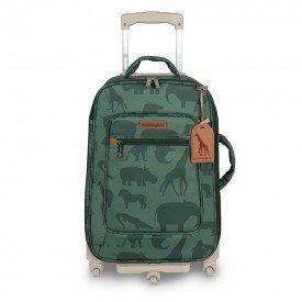 mala maternidade com rodinhas safari verde 01