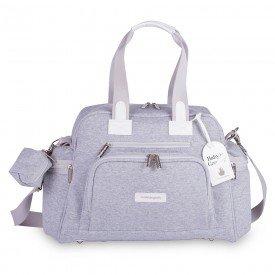 bolsa de maternidade termica masterbag baby everyday moletom cinza 01