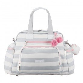 bolsa de maternidade termica masterbag baby everyday candy color ice pink