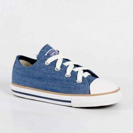 tenis converse all star infantil jeans azul 01
