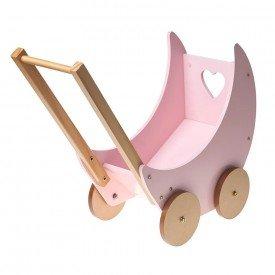 carrinho de boneca bup baby rosa 01
