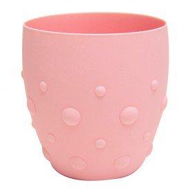 copo treinamento 100 em silicone marcus marcus encanto enxovais rosa
