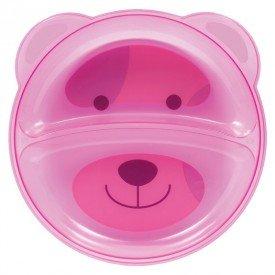 prato ursinho buba com divisorias encanto enxovais rosa 01