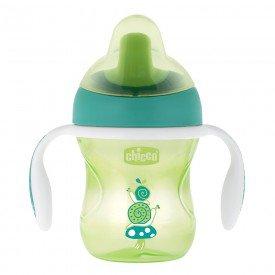 copo de treinamento chicco training cup 6m encanto enxovais verde 01