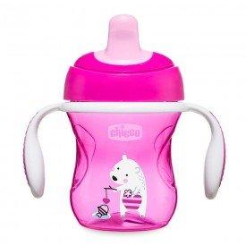 copo de treinamento chicco training cup 6m encanto enxovais rosa 01