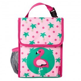 lancheira termica infantil zoo skip hop encanto enxovais flamingo 01