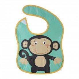 babador divertido kababy com coletor de migalhas encanto enxovais macaco 01