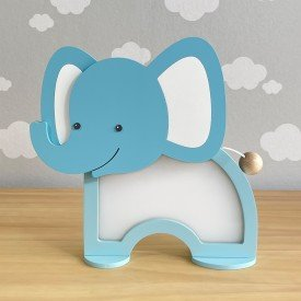 luminaria de mesa com led sem fio rh baby kids encanto enxovais elefante 01