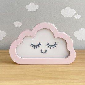 luminaria de mesa com led sem fio rh baby kids encanto enxovais nuvem 01