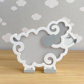 luminaria de mesa com led sem fio rh baby kids encanto enxovais ovelha 01